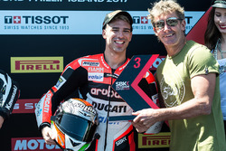 Third position Marco Melandri, Ducati Team with Troy Bayliss