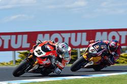 Joshua Brookes, ERMotorsport-EliteRoads.com.au; Stefan Bradl, Honda World Superbike Team