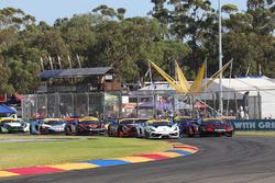 #14 Lamborghini R-EX: Peter Major; #23 JBS Australia, Lamborghini R-EX: Roger Lago
