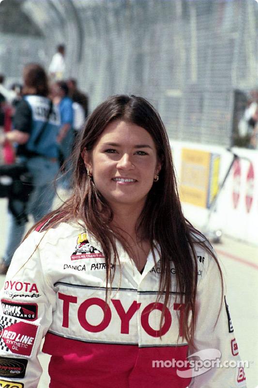 Danica Patrick durante Celebrity Race em 2002