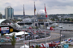 Vancouver ambiance during the race