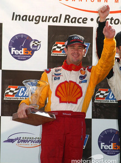 The podium: Jimmy Vasser
