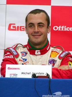 Conferencia de prensa: Michel Jourdain Jr.