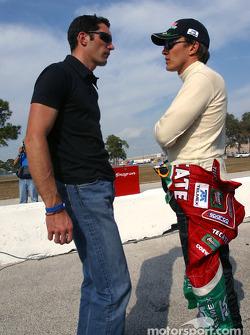 Max Papis and Adrian Fernandez