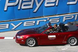 Champ Car official pace car team parade