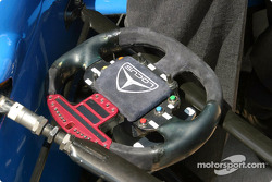 Alex Tagliani's steering wheel