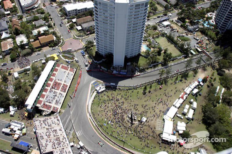 Vista aerea de Adrián Fernández