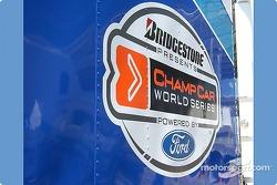 Proudly displaying the series logo
