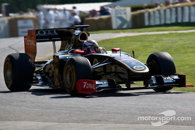 2011: Lotus Renault GP R31 (два подиума, 5-е место в КК)