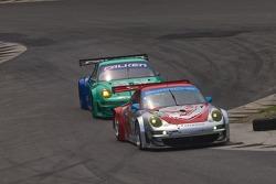#44 Flying Lizard Motorsports Porsche 911 GT3 RSR: Darren Law, Seth Neiman