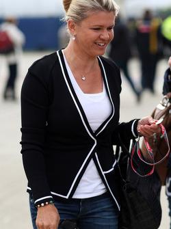Corinna Schumacher, wife of Michael Schumacher