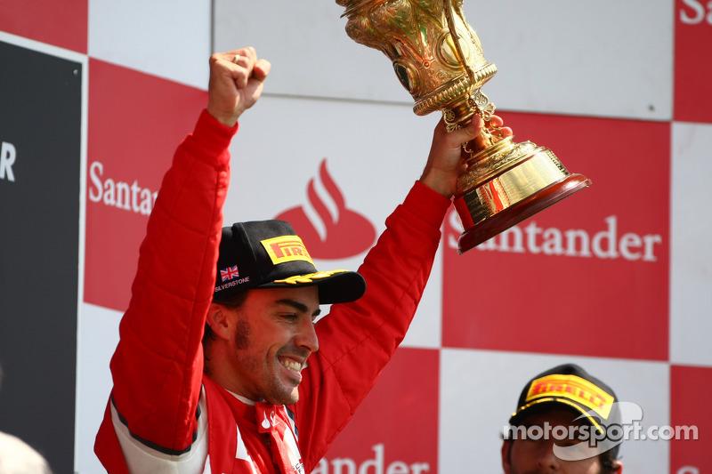 Fernando Alonso, 1º en el GP de Gran Bretaña 2011