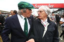 Sir Jackie Stewart con Bernie Ecclestone