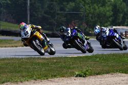 #69 Richie Morris Racing, Suzuki GSX-R600: Danny Eslick #8 Monster Energy Graves Yamaha, Yamaha YZF-R6: Josh Herrin #6 Pat Clark Motorsports Graves Yamaha, Yamaha YZF-R6: Tommy Aquino