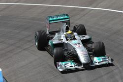 Nico Rosberg in his Mercedes GP