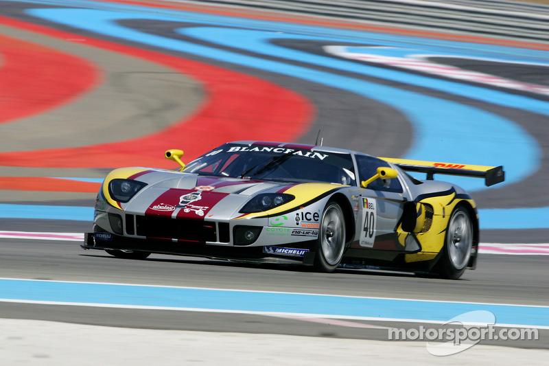 #40 Belgian Racing Ford GT: Bas Leinders, Marc Hennerci
