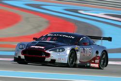 #4 Hexis AMR Aston Martin DB9: Andres Riccini, Christian Hohenadel