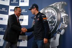 The launch of the new Casio Edifice Sebastian Vettel Watch, Sebastian Vettel, Red Bull Racing