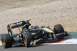 Карун Чандок, Lotus F1 Team