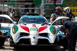 #50 Panoz Racing Panoz Abruzzi: Ian James, Edward Sandstrom
