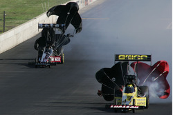 Morgan Lucas, GEICO Powersports/Lucas Oil Dragster, Larry Dixon, Al-Anabi Racing Dragster