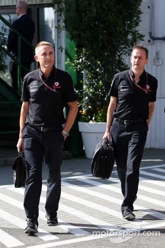 Martin Whitmarsh, McLaren, Chief Executive Officer, Jonathan Neale, McLaren