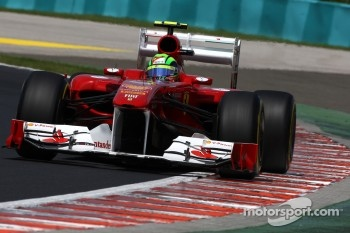 Felipe Massa was this time faster than Fernando Alonso
