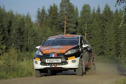 Timo Van der Marel and Erwin Berkhof, Ford Fiesta R2