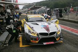 Marc VDS Racing Team BMW Z4 GT3: Marc Hennerici, Maxime Martin, Bas Leinders