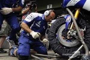 Yamaha team members at work