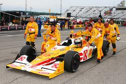 The winning team of Ryan Hunter-Reay, Andretti Autosport