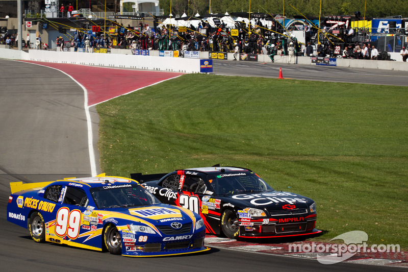 Patrick Carpentier, Pastrana Waltrip Racing Toyota and Boris Said, Chevrolet battle