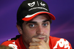 Press conference: Jerome d'Ambrosio, Virgin Racing