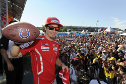 Nicky Hayden, Ducati Team at the autograph session