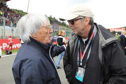 Bernie Ecclestone with Eric Clapton