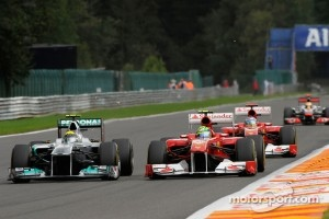 Overtaking with DRS was perhaps too easy at Spa