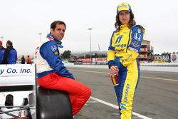 Vitor Meira, A.J. Foyt Enterprises and Ana Beatriz, Dreyer & Reinbold Racing
