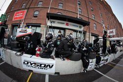 Dyson Racing team members ready for a double pit stops