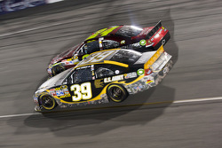Ryan Newman, Stewart-Haas Racing Chevrolet and Jeff Gordon, Hendrick Motorsports Chevrolet