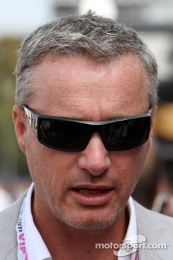 Eddie Irvine Ex F1 Driver