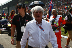 Nicky Hayden Motor GP rider and Bernie Ecclestone