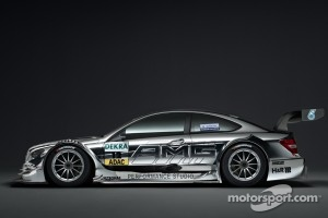 The new 2012 DTM AMG Mercedes C-Coupé presented at the Frankfurt Motor Show