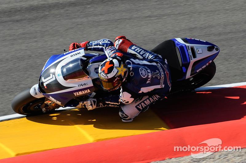 Jorge Lorenzo llegaba a Aragón 2011 como vigente campeón del mundo