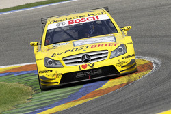 El #17 David Coulthard (Deutsche Post AMG Mercedes / Deutsche Post AMG Mercedes C-Klasse (2008))