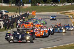 #26 Signatech Nissan Oreca 03 Nissan: Franck Mailleux, Lucas Ordonez, Jean-Karl Vernay heads to pace lap