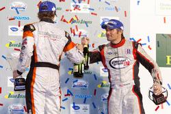 PC podium: Kyle Marcelli and Chapman Ducote