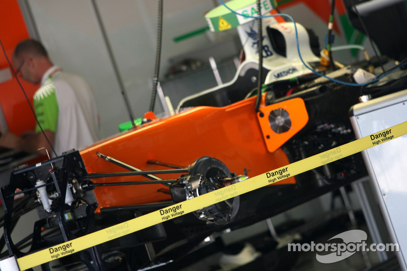 Force India Racing Team KERS