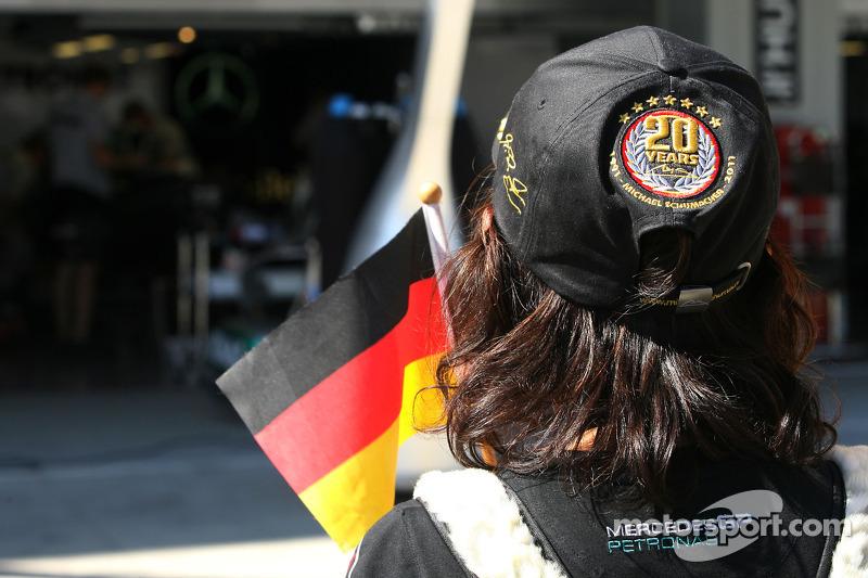 Fan of Michael Schumacher, Mercedes GP