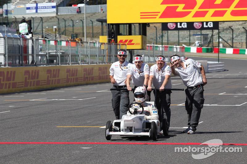 Kamui Kobayashi, Sauber F1 Team soap box race