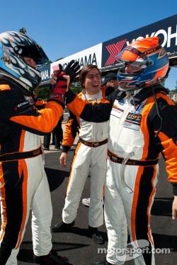NGT Motorsports celebrates their multiple podiums